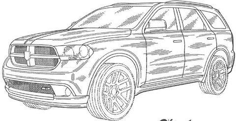 Dodge Magnum é revelado por registro de patente