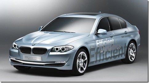 BMW mostra o Série 5 ActiveHybrid Concept em Genebra
