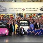 Fiat 500 chega a 500.000 unidades fabricadas