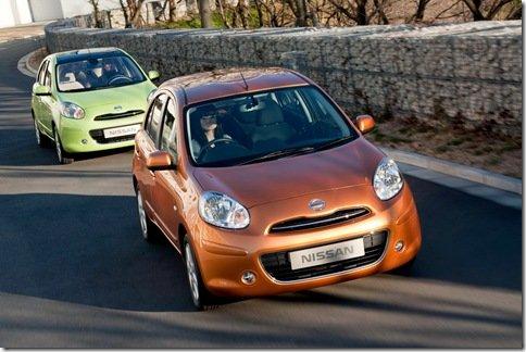 Nissan revela o novo Micra, que chega em 2011