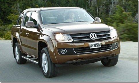 Volkswagen Amarok pode ser mais barata que a Hilux