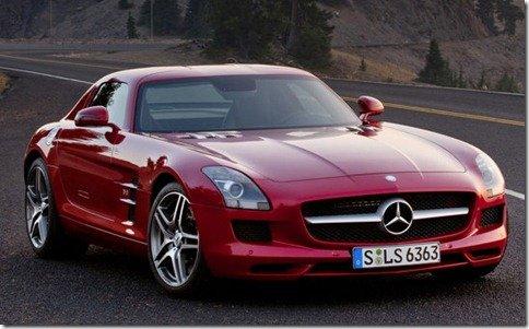 Mercedes SLS AMG chegará custando cerca de R$ 650.000