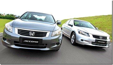 Honda Accord 2010 troca de versões e fica mais completo