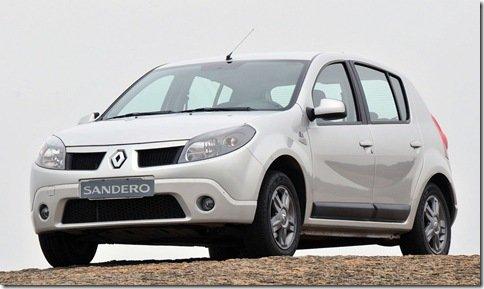 Renault Sandero Vibe é relançado na linha 2010