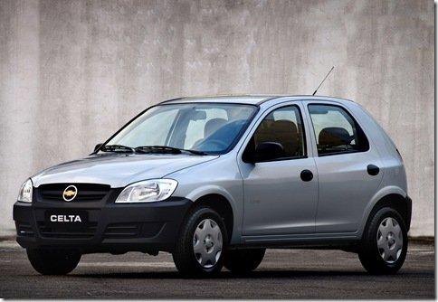 Chevrolet apresenta linha 2011 de Celta e Prisma; preços menores indicam a chegada do Agile 1.0