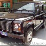 Land Rover Defender é convocada para recall