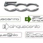 Fiat quer que internauta escolha o logotipo do 500 para os EUA
