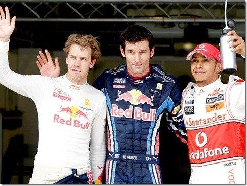 GP da Turquia – Mark Webber novamente pole position