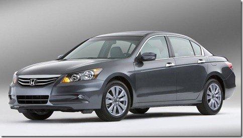 Honda Accord 2011 recebe alterações estéticas nos EUA