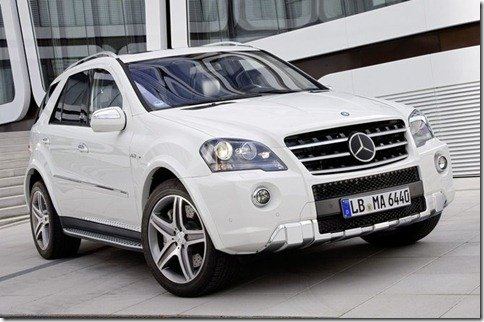 Mercedes ML63 AMG recebe facelift