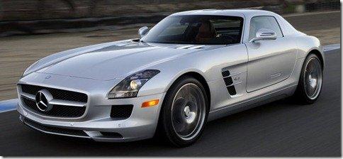 Mercedes SLS AMG é lançada por R$ 648.000