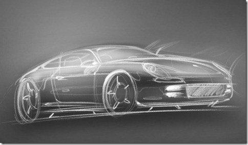 Seria essa a primeira imagem do Porsche Panamera Coupé?