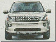 Vazam imagens do Land Rover Freelander reestilizado