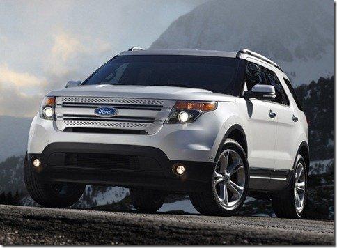 Ford apresenta a nova Explorer 2011