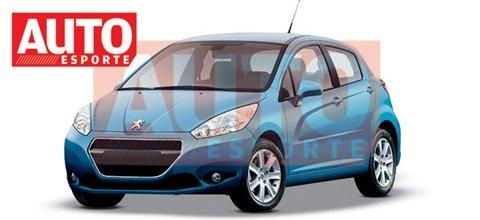 Peugeot produzirá 208 no Brasil em 2012