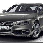 Vazam primeiras imagens do Audi A7 S-line