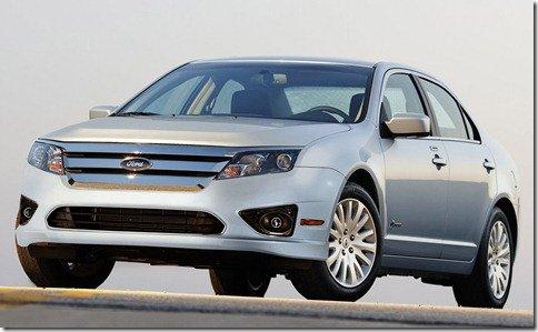 Ford Fusion Hybrid chega ao Brasil ainda neste ano 2010