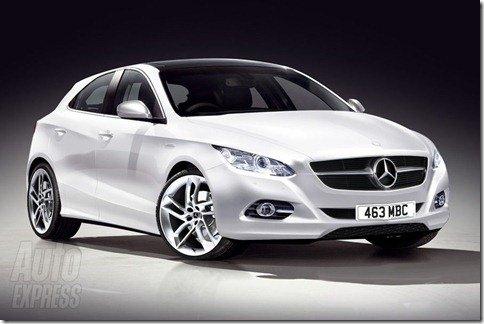 """Mercedes planeja um rival para o Golf e mais 4 modelos mais """"acessíveis"""""""