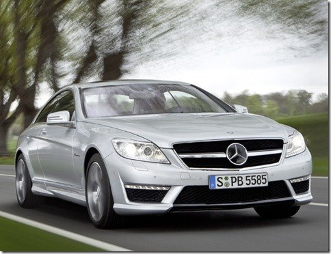Mercedes revela os CL63 e CL65 AMG