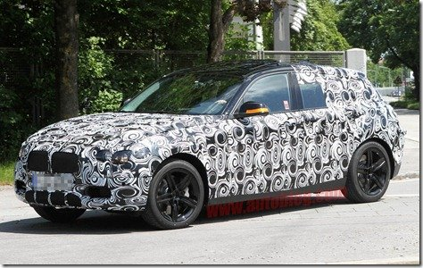 BMW prepara nova geração da Série 1 e novo propulsor