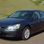 Honda convoca Accord 2003 para recall