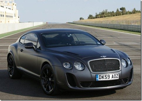 Bentley Continental SuperSports já está a venda no Brasil por R$ 1,35 milhão