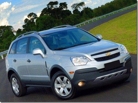 Chevrolet Captiva Ecotec terá novo câmbio automático