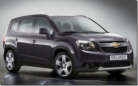 Chevrolet revela a versão de produção do Orlando