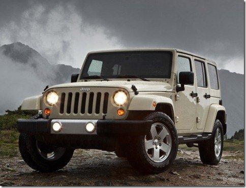 Jeep Wrangler 2011 é apresentado