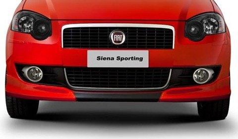 Fiat mostra Siena Sporting 1.8 16v em seu site