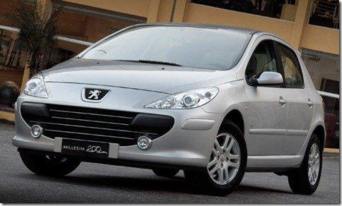 Peugeot lança versão especial 307 Millesim 200; montadora anuncia também recall para o 207 HB