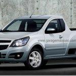 Nova Chevrolet Montana será lançada no fim do mês, mas modelo antigo continua em linha