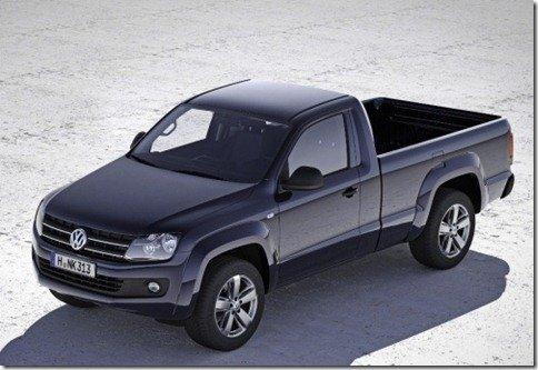 Volkswagen Amarok cabine simples é apresentada na Alemanha