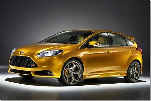 Ford revela nova geração do Focus ST