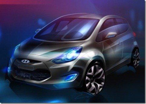 Hyundai revela a primeira imagem do ix20