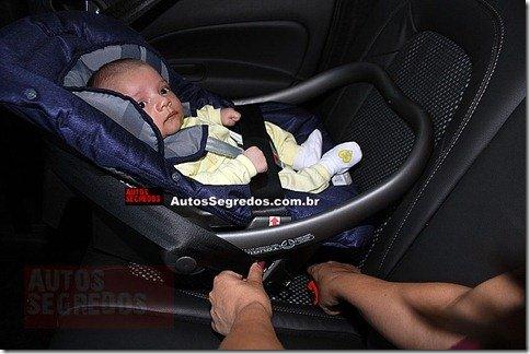 Cinto do Citroën Aircross não permitia a instalação do bebê conforto