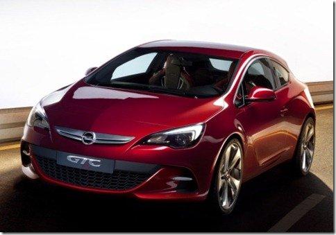 Opel GTC París adianta a nova geração do Astra 3p