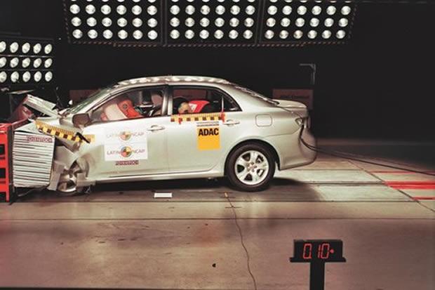 Latin NCAP realiza primeiros crash tests com veículos vendidos no mercado brasileiro