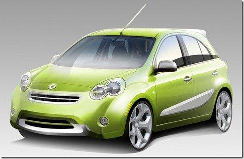 smart fará modelo baseado no Nissan Micra