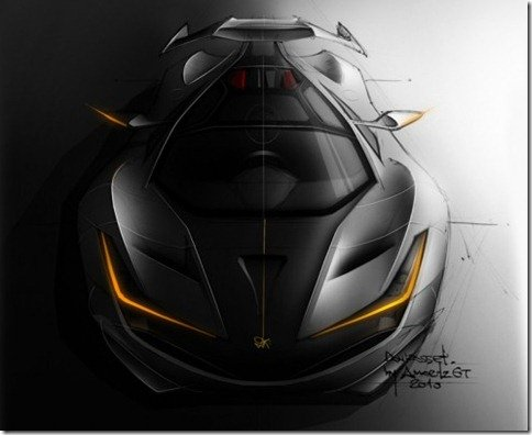 Amoritz GT DoniRosset, mais um superesportivo nacional
