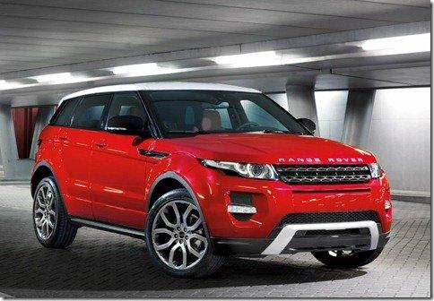 Range Rover Evoque de 5 portas será apresentada em Los Angeles
