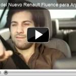 Comercial do Renault Fluence na Argentina