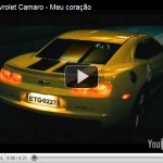 Video – Comercial do  Chevrolet Camaro