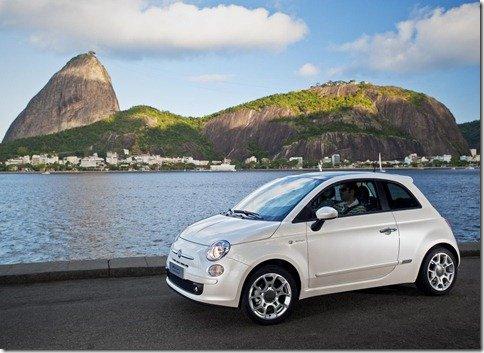 Fiat 500 mexicano já está em produção, mas só chega ao Brasil em meados de 2011