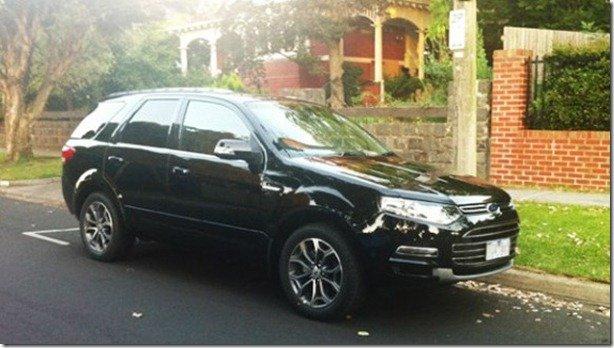 Nova geração do australiano Ford Territory aparece sem camuflagens