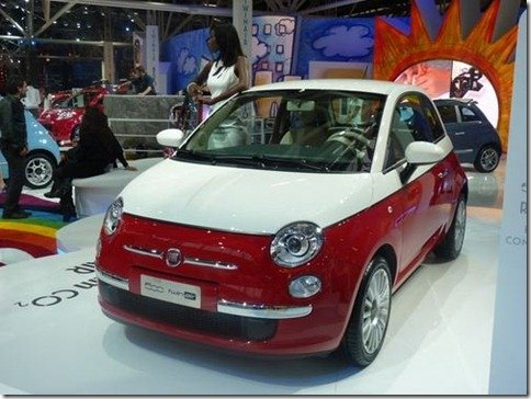 Fiat apresenta versão especial Bicolore para o Cinquecento