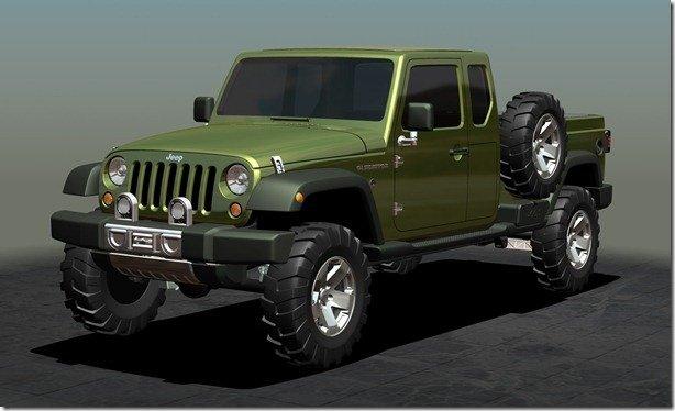 Jeep cancela projeto de picape