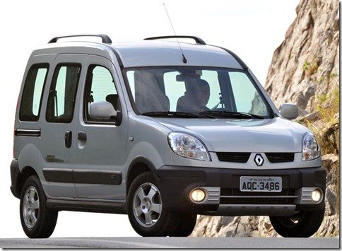 Renault Kangoo deixa de ser oferecido em versão de passageiros