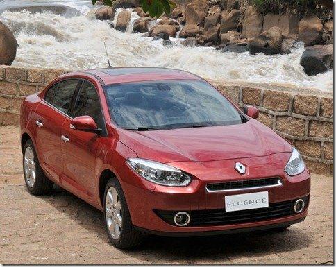 Renault divulga preços do Fluence, que chegará ao mercado brasileiro em 2011