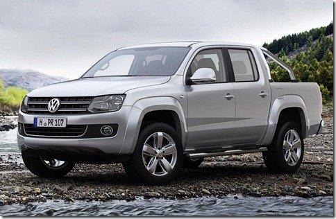 Volkswagen Amarok também será fabricada na Alemanha